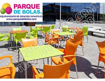 Mobiliario para cafeteria adultos de parques de bolas - Mobiliario de cafeteria ...