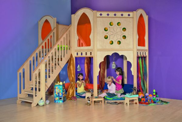 Parque rabe de juego madera natural casas de madera - Casas de juego para ninos ...