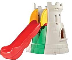 Tobogan castillo toboganes parques infantiles for Vallas infantiles plastico