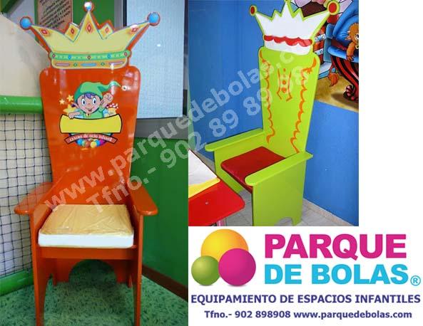 Trono para cumplea os talla infantil child furniture - Manteles infantiles para cumpleanos ...