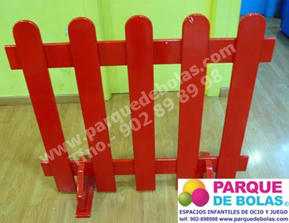 Valla de madera separadora medidas 100x10x92h cm - Vallas de seguridad ninos ...