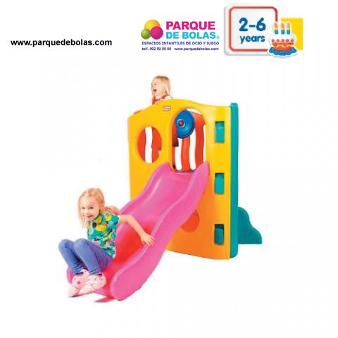 Parque infantil arcoiris toboganes parques infantiles for Vallas infantiles plastico
