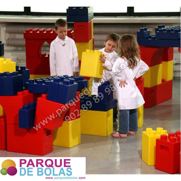 Bloques gigantes de construccion 30 piezas varios - Piezas lego gigantes ...