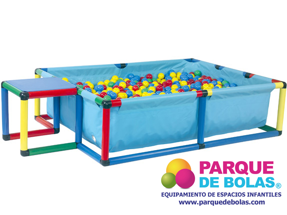 Piscina de bolas y agua de 125x85x25 cm parques de bolas for Piscina de bolas amazon