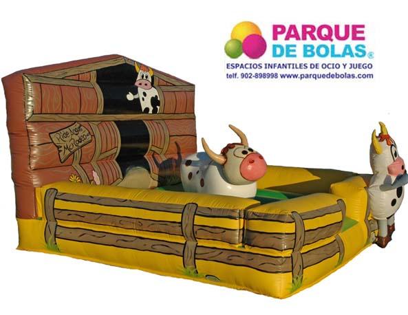 Atracciones Mecanicas Toro Mecanico Parque De Bolas