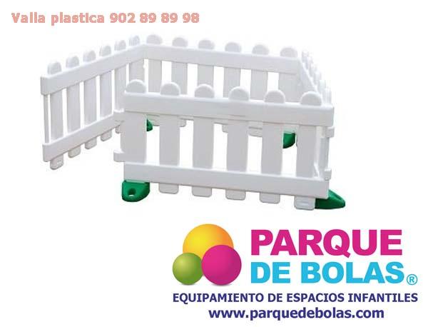 Vallas plasticas para ni os pack 4 unidades vallas - Vallas de seguridad ninos ...