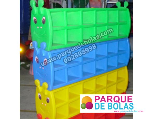 Zapatero para parques 1 modulo mobiliario parques de - Zapatero infantil ikea ...