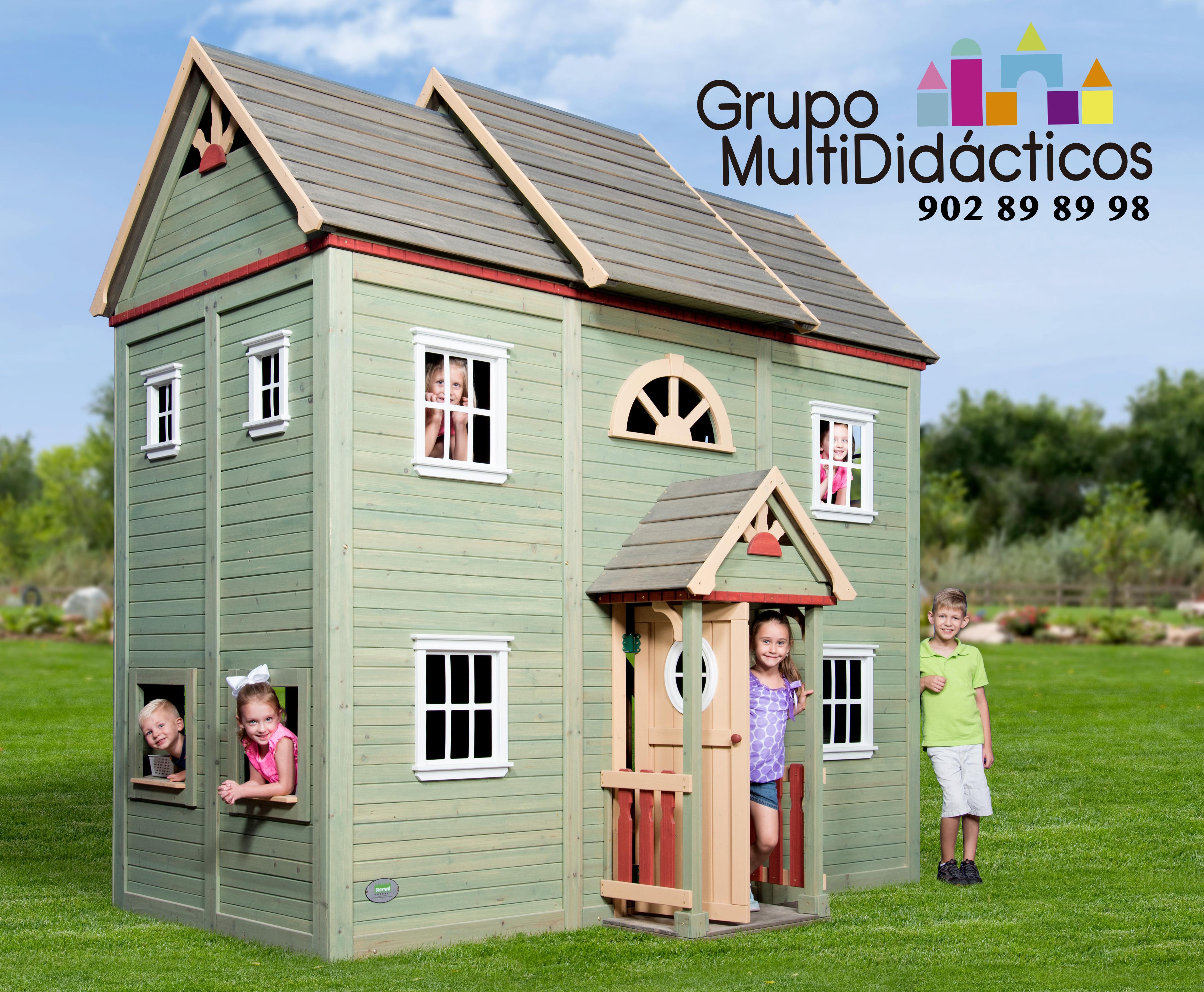 Casas de madera para ni os parque de bolas for Casitas de madera para ninos economicas