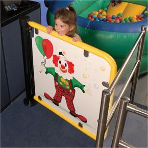 Puerta acceso infantil