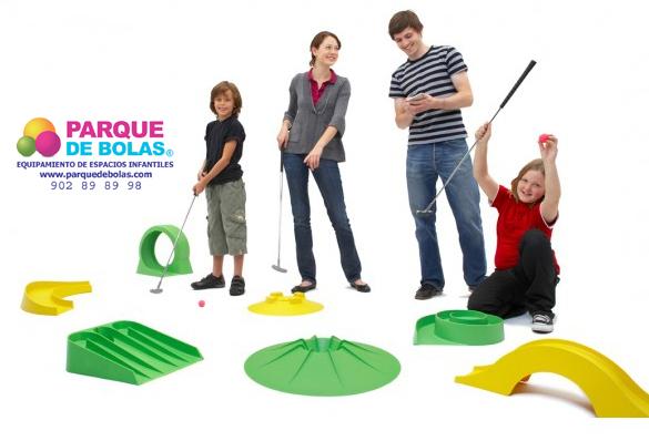 Minigolf para parques