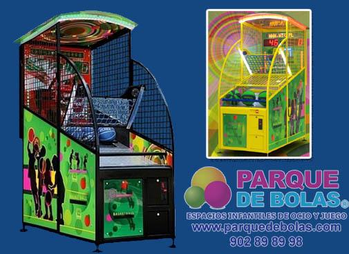 Maquinas De Monedas Deportivas Parque De Bolas