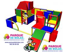 Parque de bolas Lara 2,65x2,35x1,25 m